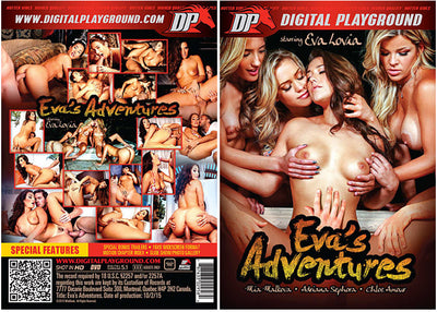 Eva's Adventures Digital Playground - Sealed DVD