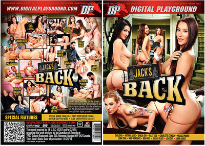 Jack's Back Digital Playground - Feature Sealed DVD