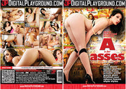 A Is For Asses Digital Playground - Sealed DVD