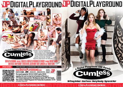 Cumless: A XXX Parody DP - 2018 Sealed DVD
