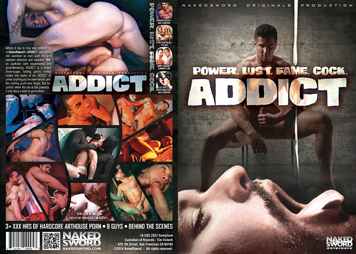 Addict - Hot House Video Gay Sealed DVD