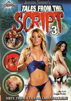 TALES FROM THE SCRIPT #3 Legend DVD in White Sleeve