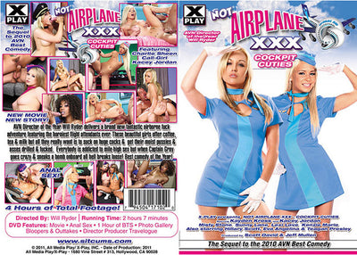 Not Airplane XXX: Cockpit Cuties X Play - Parody Sealed DVD