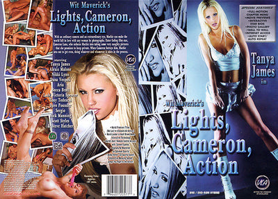 Lights, Cameron Action VCA - Feature Sealed DVD