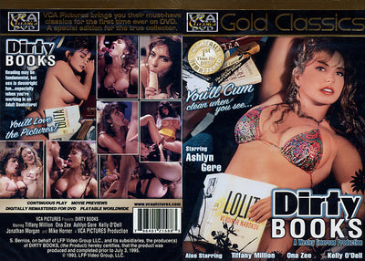 Dirty Books VCA - Gold Classics Sealed DVD