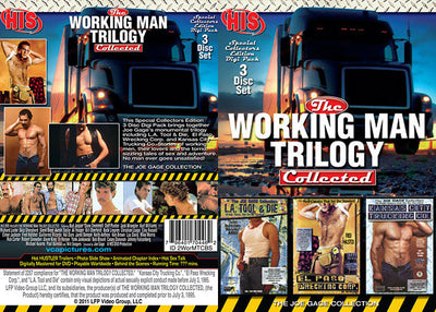 The Working Man Trilogy Collected (3 Disc Set) His DVD 3 Pack Sealed DVD