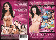 Squirting 4 Pack (4 Disc Set) Bluebird 4 Pack Sealed DVD