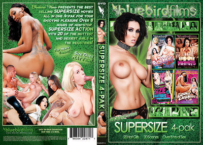 Supersize 4 Pack (4 Disc Set) Bluebird 4 Pack Sealed DVD