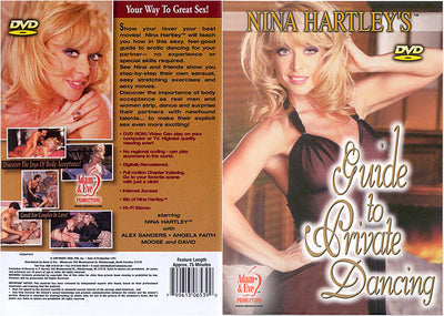 Nina Hartley's Guide To Private Dancing Adam & Eve Nina Hartley Sealed DVD