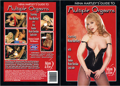 Nina Hartley's Guide To Multiple Orgasms Adam & Eve Nina Hartley Sealed DVD