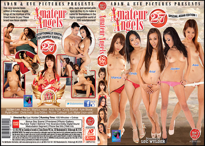 Amateur Angels 27 Adam & Eve Sealed DVD