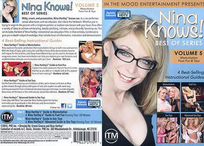 Nina Knows! Best Of Series 5 (2 Disc Set) Adam & Eve Sealed DVD