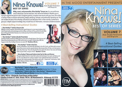 Nina Knows! Best Of Series 7 (2 Disc Set) Adam & Eve Sealed DVD