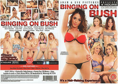 *Binging On Bush Adam & Eve 4 Hrs (riley reid) Sealed DVD