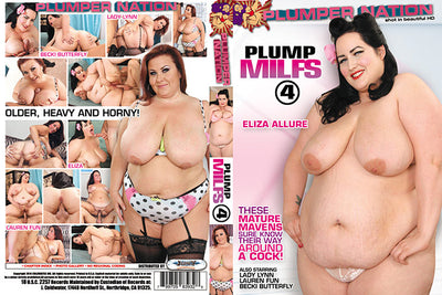 Plump MILFs 4 Plumper Nation - Fat Sealed DVD