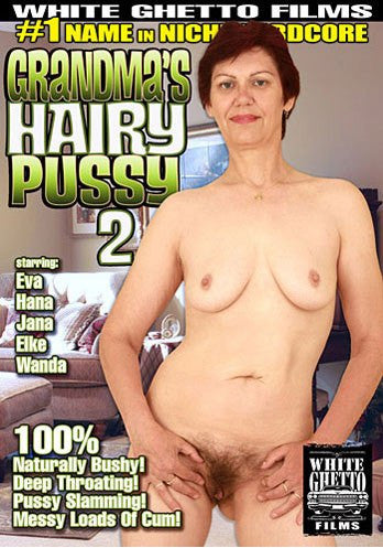 Grandma's Hairy Pussy #2 - White Ghetto Cheap Adult DVD