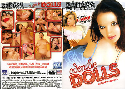 Adorable Dolls - Bad Ass Sealed DVD