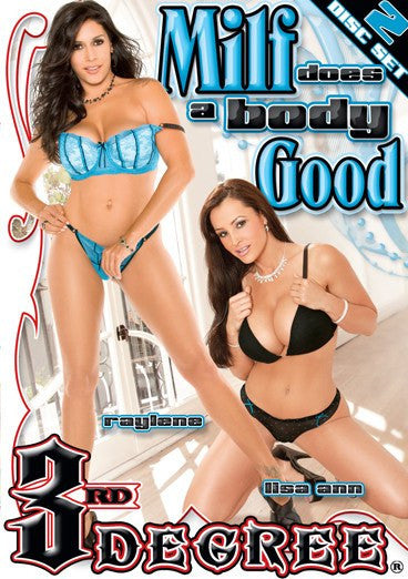 Milf Does a Body Good - 3rd Degree Sealed DVD - 2 Discs