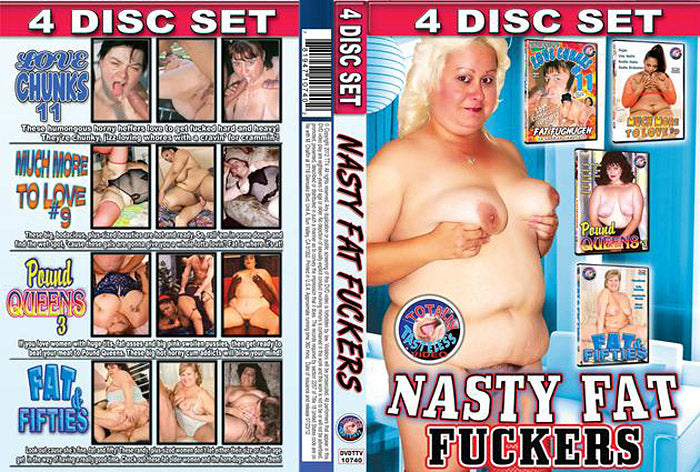 Nasty Fat Fuckers - TTV 4 DVD Sealed Set