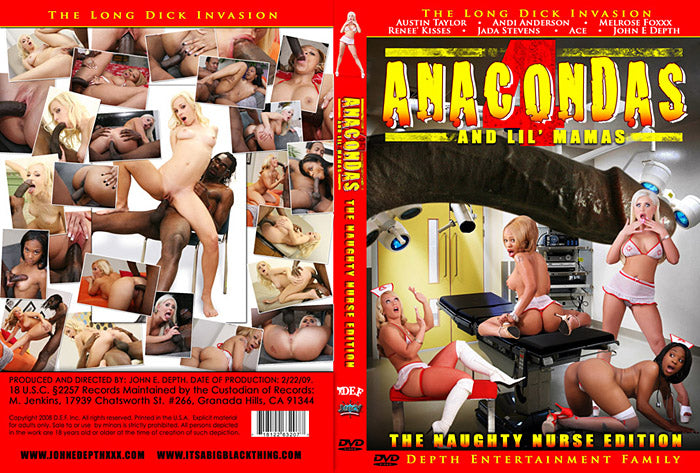 Anacondas and Lil Mamas #1 - Depth Ent Sealed DVD