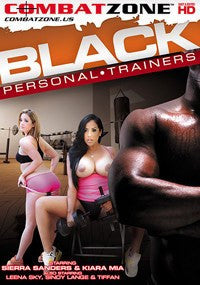 Black Personal Trainers - Combat Zone DVD in Sleeve