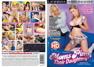 Moms Pimp Their Daughters 1 Lethal Hardcore Sealed DVD
