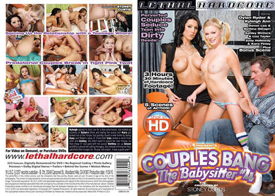Couples Bang The Babysitter 4 Lethal Hardcore - (MFF Threesome) Sealed DVD