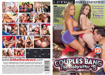 Couples Bang The Babysitter 8 Lethal Hardcore - (MFF Threesome) Sealed DVD