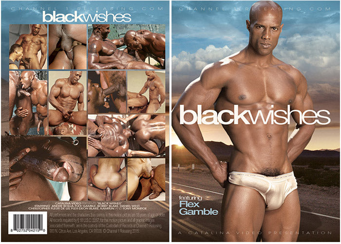 Black Wishes - All Worlds, Gay Sealed DVD