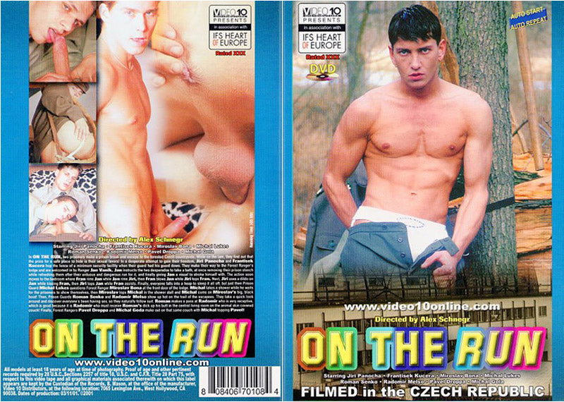 On The Run Video 10 - Gay Sealed DVD