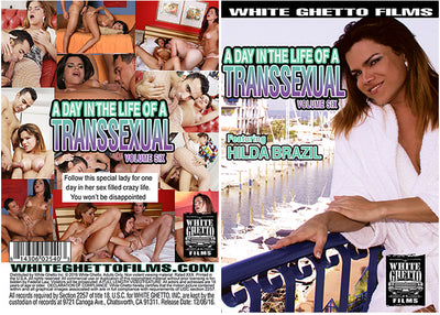 A Day In The Life Of A Transsexual 6 White Ghetto - Shemale Sealed DVD