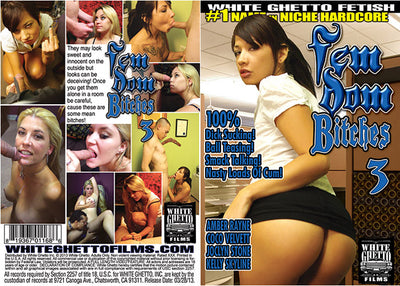 Fem Dom Bitches 3, White Ghetto - Specialty Sealed DVD