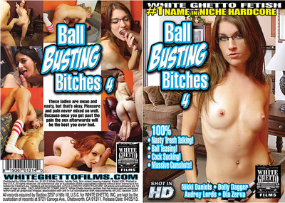 Ball Busting Bitches 4, White Ghetto - Specialty Sealed DVD