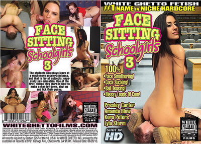 Face Sitting Schoolgirls 3 White Ghetto - Specialty Sealed DVD