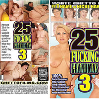 25 Fucking Grandmas #3 - White Ghetto Cheap Adult DVD
