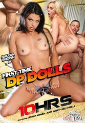 First Time DP Dolls - 10 Hour DVD