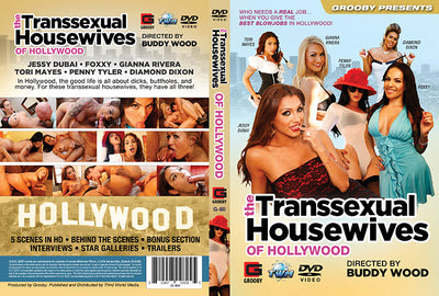 The Transsexual Housewives Of Hollywood Grooby - Tranny Sealed DVD