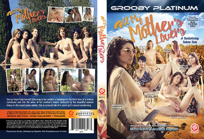 All My Mother's Lovers Grooby - Tranny Sealed DVD