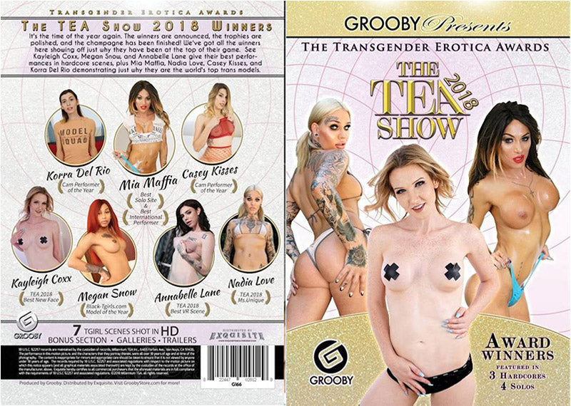 The Tea Show 2018 - Grooby Sealed Transsexual DVD