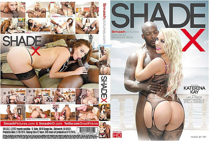 Shade X #1 - Smash Pictures Sealed DVD