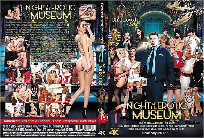 Night at the Erotic Museum- Smash Pictures 2015 Sealed DVD