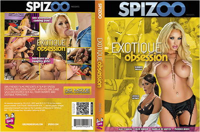 Exotique Obsession 1 Spizoo - All Sex Sealed DVD