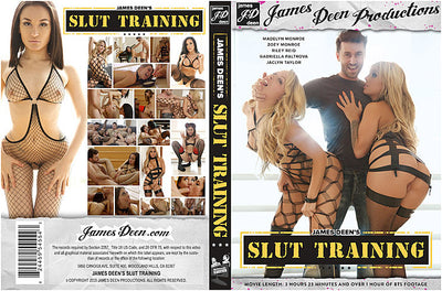 James Deen's Slut Training 1 James Deen Sealed DVD