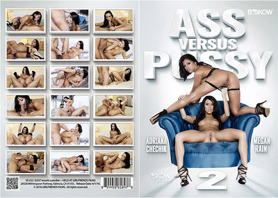 Ass vs Pussy 2 (2 Disc Set) Skow Digital - Adriana Chechik Sealed DVD