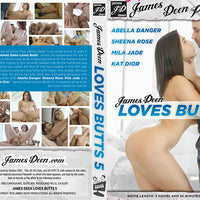 James Deen Loves Butts 5 James Deen - (abella danger) Sealed DVD