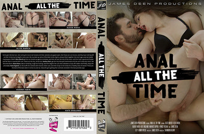 Anal All The Time James Deen - Gonzo Sealed DVD