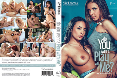 Do You Wanna Play With Me? Viv Thomas - Lesbian Sealed DVD