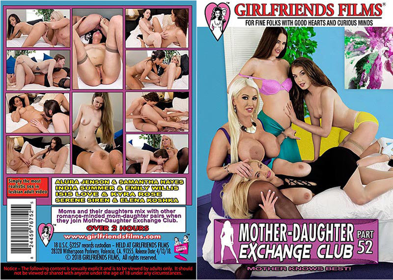 Mother-Daughter Exchange Club 52, Girlfriends Films Sealed DVD