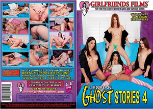 Lesbian Ghost Stories 4 Girlfriends - New  - Sealed DVD