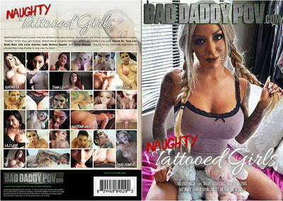 Naughty Tattooed Girls 1 Bad Daddy POV Sealed DVD